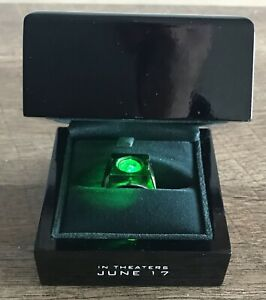 GREEN LANTERN RYAN REYNOLDS TRADE ONLY MOVIE PROP RING 2011 ULTRA RARE! NM!