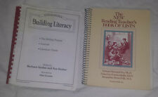 Lot of 2 Reference Books Reading Teaching Book of Lists + Building Literacy Used