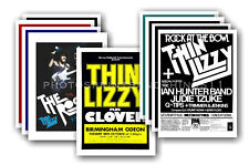 THIN LIZZY - 10 promotional posters  collectable postcard set # 1