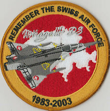 SWISS AIR FORCE Mirage III RS LIMIT.