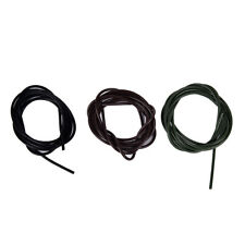 3x 1 meters Silicone Rig Tubes ID 1mm Carp Fishing Terminal TackleLD