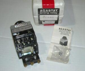 AGASTAT 7012ADL TIMING RELAY 120V 60HZ 5-50 SECONDS NSN 5945-00-430-9656