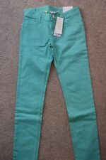 adidas Neo Womens Skinny Jeans. Size W26, L32. Green. New with tags