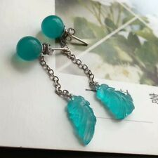 Dyed ite Quartz Light Blue Stone Plugs Gauges Sold Pairs GOS18