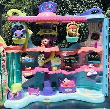LOT PETSHOP Pet Shop : Grande Maison Cirque Balancelles + 5 Figurines TBE