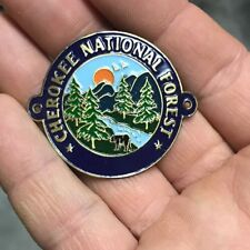 Cherokee National Forest walking Hiking Medallion NEW staff  North Carolina