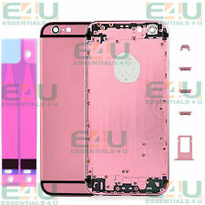 Pink & Black Colour Metal Back Housing For Apple iPhone 6 Inc Buttons etc