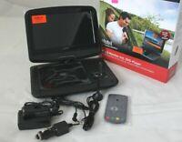 "Mobil Reflexion DVD1017 9"" LCD Monitor HDMI Akku Autoadapter USB SD AV out BWare"