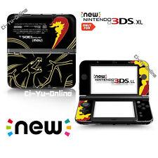 [new 3DS XL] Pokemon Charizard Black VINYL SKIN STICKER DECAL COVER