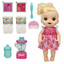 Baby Alive Magical Mixer Baby Doll Strawberry Shake, Blender, Accessories,