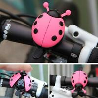 Kid Children Ladybug Bike Bicycle Cycling Handlebar Ring Sound Bell Horn Alarm #