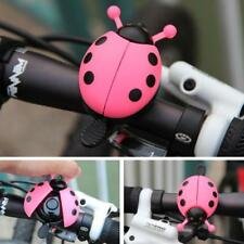 Bicycle Bell Ladybug Beetle Boll Ladybird Alarm Bike Metal Girls Kids Pink