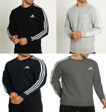 adidas Essentials 3Stripes Sweatshirt Crewneck Sweater Sport Pullover 4 Farben