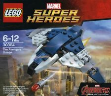 Lego Super Heroes Marvel Avengers Quinjet 30304 exklusivset en bolsas de plástico
