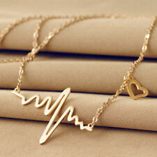 Grey's Anatomy inspired heartbeat necklaces Love Heart Necklace