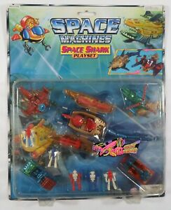 VTG 80's MULTIMAC MICRO GALAXY MONSTER SPACE MACHINES SHARK PLAY-SET SEALED A