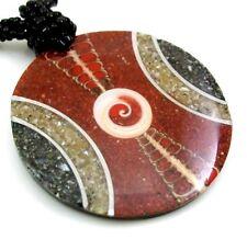 SEA SHELLS,  RED CORAL & SHIVA EYE necklace: DA262
