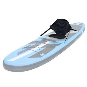 Siège de kayak réglable avec sangles pour bateau planche de surf SUP 62 x 43 cm