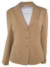 idea collection giacca blazer donna beige made italy taglia it 44 l large