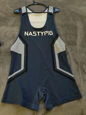 NastyPig Nasty Pig Code Wrestling team Singlet XL gay int? interest grappling