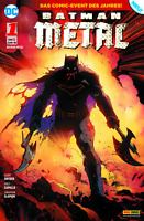 Batman Metal (Dark Days) 1 - METALLIC COVER - Deutsch - Panini - Comic - NEUWARE