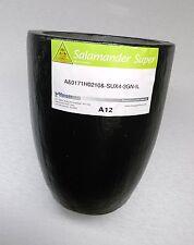 A12 Salamander Clay Graphite Melting Crucible Super A-12 Brass Capacity 18 Kilo