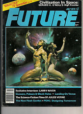 Future Magazine#3 1978 BORIS VALLEJO COVER, PAINTINGS,INTERVIEW