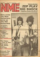 MAY 26 1979 NEW MUSICAL EXPRESS newsprint magazine ROLLING STONES
