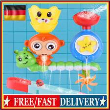 Badewannenspielzeug Badespielzeug Baby Wasserspielzeug Spray Wasser Affe Toy DE