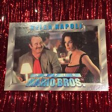 Super Mario Bros. 1993 Trading Cards Single Card 14 'BELLA NAPOLI' Good Cond.
