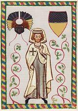 Ansichtskarte - Der Tannhäuser / Manessische Liederhandschrift