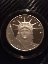 1 oz Silver Round .999 Fine - Statue of Liberty in capsule