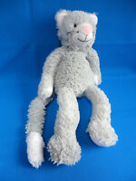 """13"""" GREY KITTY CAT Jellycat PICKLES MEDIUM soft toy * THE LITTLE WHITE COMPANY"""