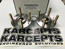 Karcepts 36mm Swap Hubs w Wheel Bearings 94-00 Integra Civic w LARGER BRAKES