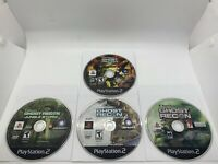 Lot of 4 Tom Clancy's Ghost Recon PS2 Disc Only Tested Sony PlayStation 2 Games