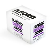 New 1 Roll of Ilford Delta 3200 36 Exp Professional Black & White Film exp 01/18