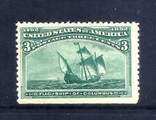 US Stamps - #232 - MNH - 3 cent 1893 Columbian Expo Issue - CV  $97