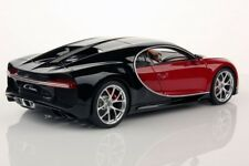 Bugatti Chiron Nocturne, Italian Red in 1:18 Scale by MR Collection  BUG06B