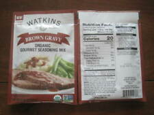 3 Packs Watkins  Organic  Gourmet Brown Gravy Mix  New