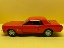 Maisto 1:39 Scale 1964 Ford Mustang - Orange *LOOSE*