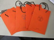 "Hermes 4 Shopping Bags 8-1/4"" X 11-1/4"""