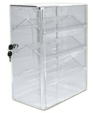 Display Showcase Lockable Double Sided Acrylic Showcase Ideal Collectors Display