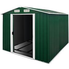 DEUBA® XXXL Metall Gerätehaus Gartenhaus Geräteschuppen 8m² Schiebetür