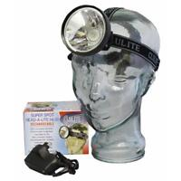 Clulite HL13 250m beam LED Wide and Focused super Spot Rechargeable Headlamp