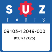 09103-12049-000 Suzuki Bolt(12x25) 0910312049000, New Genuine OEM Part