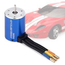 New 3650 3900KV Sensorless Brushless Nutenlose Motor Scala für 1/10 KS