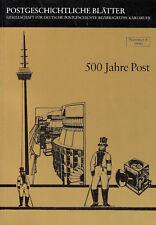 Postgesch. Blätter KARLSRUHE -Nr.8/1990, 500 Jahre Post, DIE BADISCHE FELDPOST