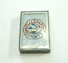 Vintage Nos Special Export Light Beer Playing Cards - Sealed!