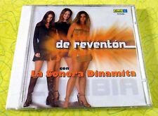 De Reventon by La Sonora Dinamita Cumbia ~ Music CD ~ New Sealed ~ Rare Spanish