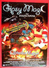 GYPSY MAGIC 1997 MIKI MANOJLOVIC SABAN BAJRAMOVIC POPOV UNIQUE EXYU MOVIE POSTER